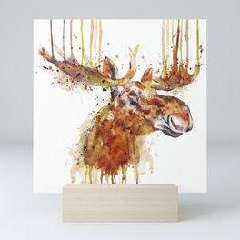 Moose Head Mini Art Print