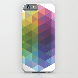 Fig. 016 Geometric Shape Triangles iPhone Case