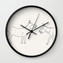 Laughing My Ass Off Wall Clock