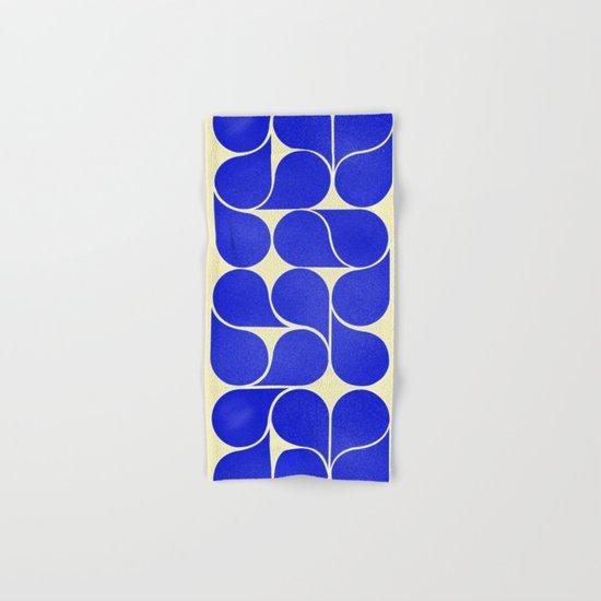 Blue mid-century shapes no8 by happyplum