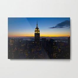 Empire State Building Metal Print