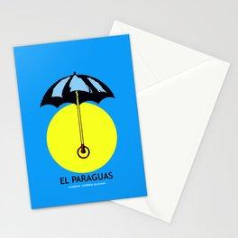 El Paraguas Loteria Mexican Pop Art Stationery Cards