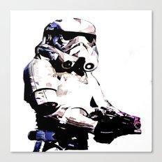 Paper Trooper Canvas Print