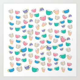 A Cup for Me a Cup for You Art Print