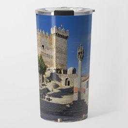 Penedono castle, Portugal Travel Mug