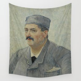 Portrait of Etienne-Lucien Martin Wall Tapestry