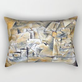 Georges Braque Pedestal Table Rectangular Pillow