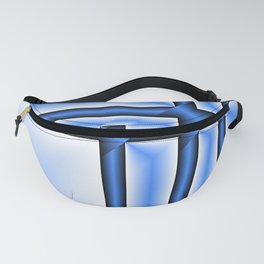 abstract pattern in metal Fanny Pack