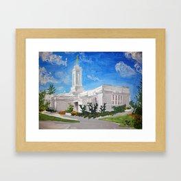 Colonia Juarez Mexico LDS Temple Framed Art Print