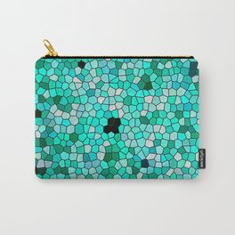 HARMONY IN TURQUOISE Carry-All Pouch
