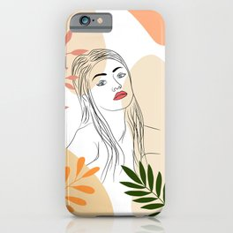 Intoxicant Eyes #illustration #drawing iPhone Case