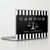 divergent Laptop & iPad Skins featuring CANDOR - DIVERGENT by MarcoMellark