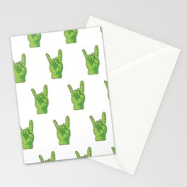 Rock 'n' roll CACTUS. Stationery Cards