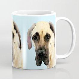 Great Dane Art - Dog Painting by Sharon Cummings Coffee Mug