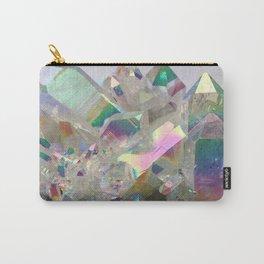 Opal Aura Quartz #10 Carry-All Pouch