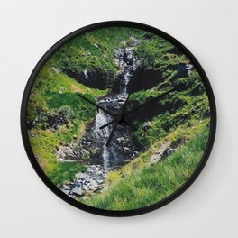 Hiking Ben More Wall Clock