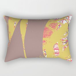 etched n sketched Rectangular Pillow
