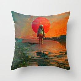The Blast Throw Pillow