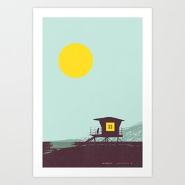 Locals Only - San Diego Art Print