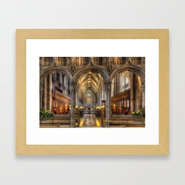 British Church Framed Art Print