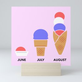 Ice Cream Season Mini Art Print