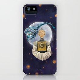 Grandfather, Kubo digital painting iPhone Case