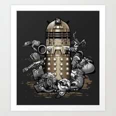 Exterminated! Art Print
