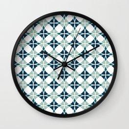Emerald Glass Wall Clock