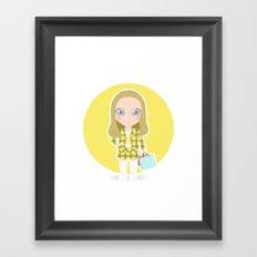 Clueless Framed Art Print