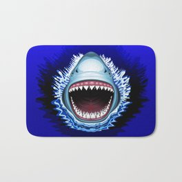 Shark Jaws Attack Bath Mat