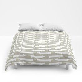 White Wiener Comforters
