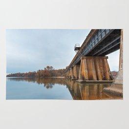 Rustic Leesylvania Bridge Rug