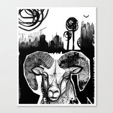 Ram City Canvas Print