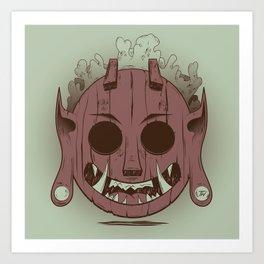 Wooden Djinn Art Print