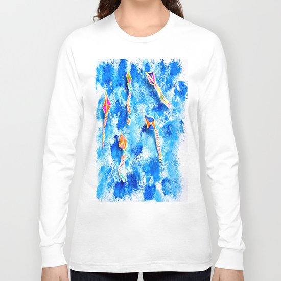 FREE SPiRiT KiTES   Fashion Kids Long Sleeve T-shirt