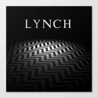 lynch Canvas Prints featuring Lynch by Spyck