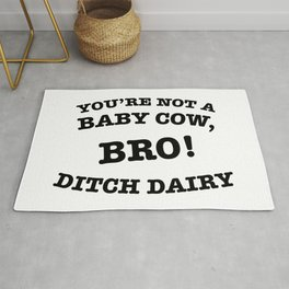Ditch Dairy Rug