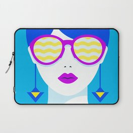 Sunglasses babe Laptop Sleeve