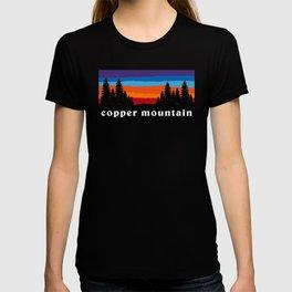 Copper Mountain Colorado Ski Snowboard Resort Skier Snowboarder Winter Park Gift Ideas T-shirt