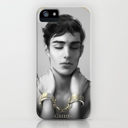7 sins: Greed iPhone Case