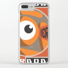 see the glance Clear iPhone Case