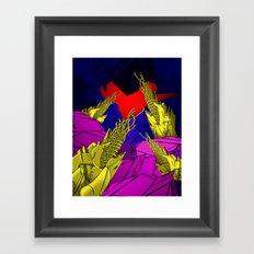 AUTOMATIC WORM 6 Framed Art Print