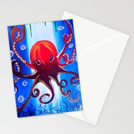 Dancing Octopus Stationery Cards