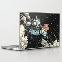 attack on titan Laptop & iPad Skins featuring Attack! by carbine