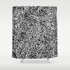 total confusion Shower Curtain