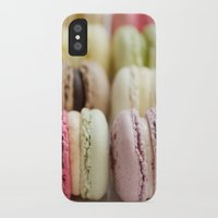 macaron iPhone & iPod Cases featuring macaron by Susigrafie