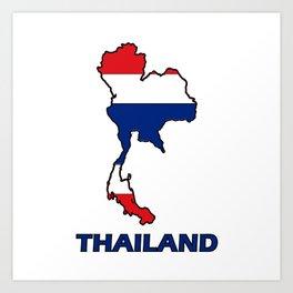 Thailand logo Art Print