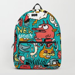 2019 New Year Pattern Backpack