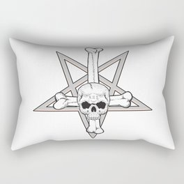 Satanica Rectangular Pillow