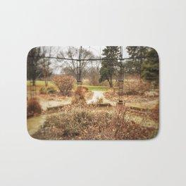 Choose a Path - Centennial Garden, Middle Park - Bettendorf, Iowa Bath Mat